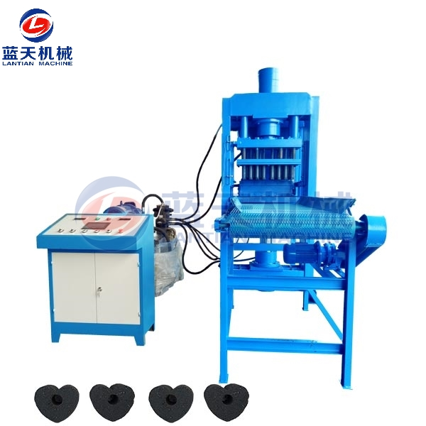 Fruit Wood Charcoal Tablet Press Machine