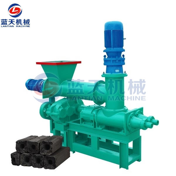 Coconut Shell Charcoal Extruder Machine